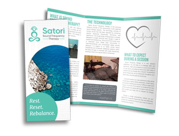 Satori Sound Frequency Therapy Brochure