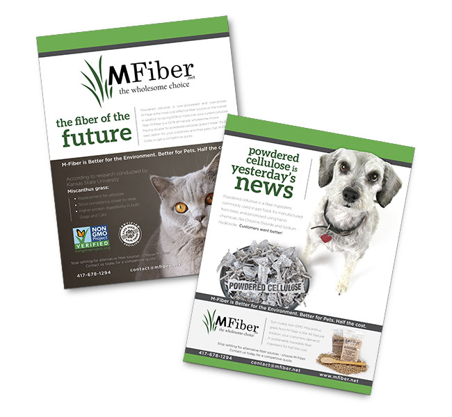 Red Crow Marketing - Graphic Design - MFiber Sales Sheet