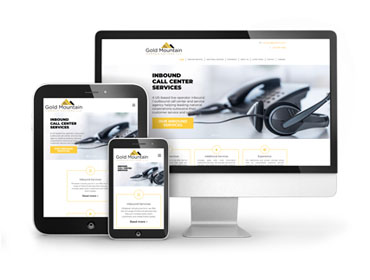 Gold Mountain Communications Corporate Web Design
