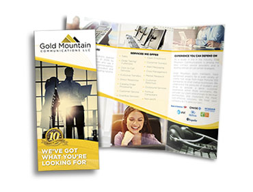 Gold Mountain General Services Brochure