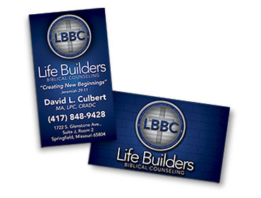 Life Builders Business Card