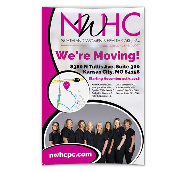 Red Crow Marketing Portfolio - NWHC We're Moving Posters