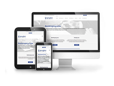 Springfield Law Website Design