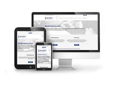 Springfield Law Website Design Thumbnail