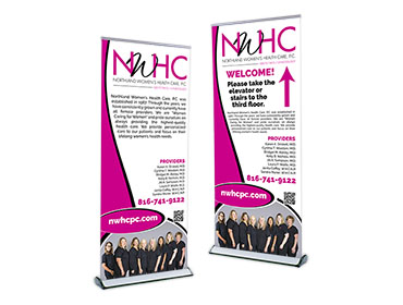 Red Crow Marketing Portfolio Other NWHC Banner Stands TN