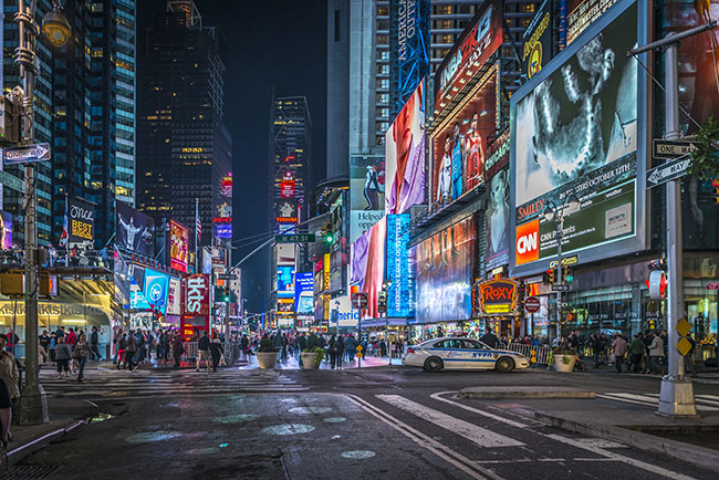 Advertisements On Times Square - Red Crow Marketing