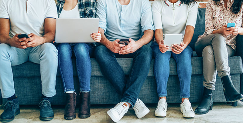 young adults social media marketing on tik tok